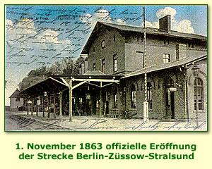 Foto: Bahnhof 1913