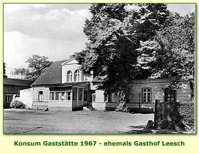 Foto: KONSUM Gaststätte 1967